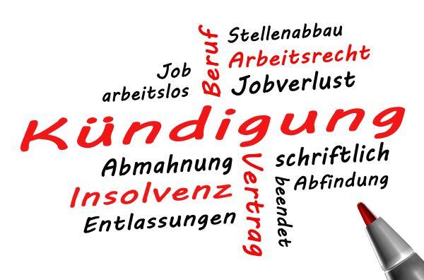 Abmahnung im Arbeitsrecht - Schlagworte