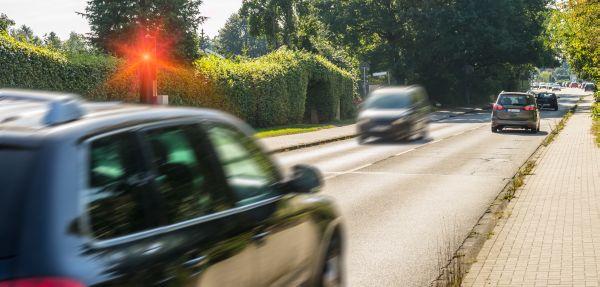 Fahrer droht Fahrverbot da er geblitzt wurde
