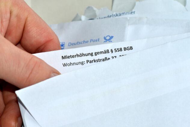 Ankündigung einer Mieterhöhung per Post